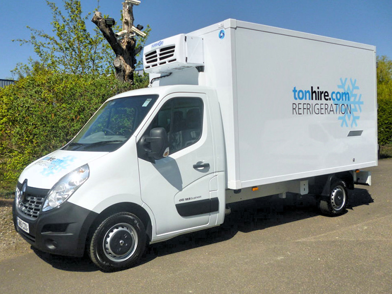 ceee61bc98 Refrigerated Vans - Ton Hire